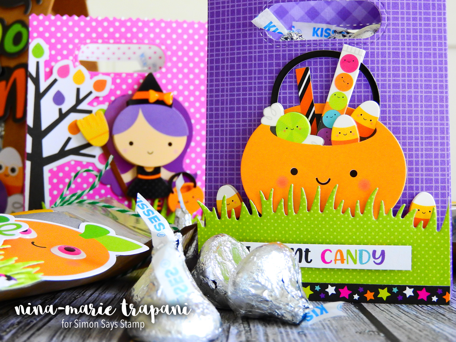 Studio Monday with Nina-Marie: Doodlebug Treat Bags for Halloween! | Nina-Marie Design