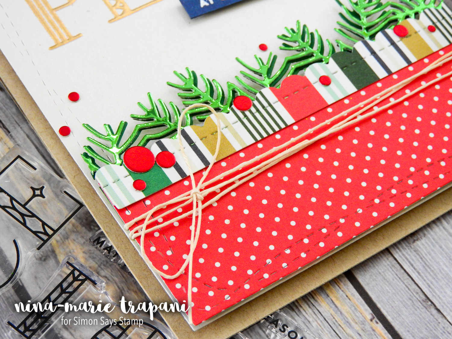 Layered Die Cutting + Simon's Making Spirits Bright Release | Nina-Marie Design