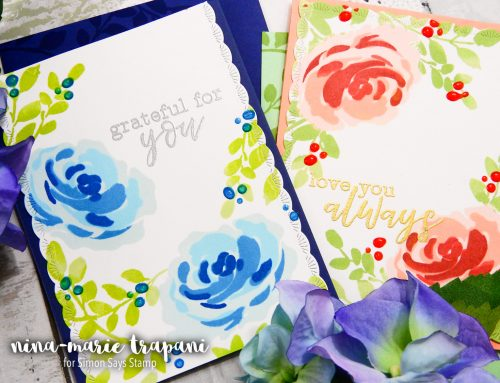 Masking vs. No Masking + Altenew Stamp/Die Release Blog Hop + Giveaway