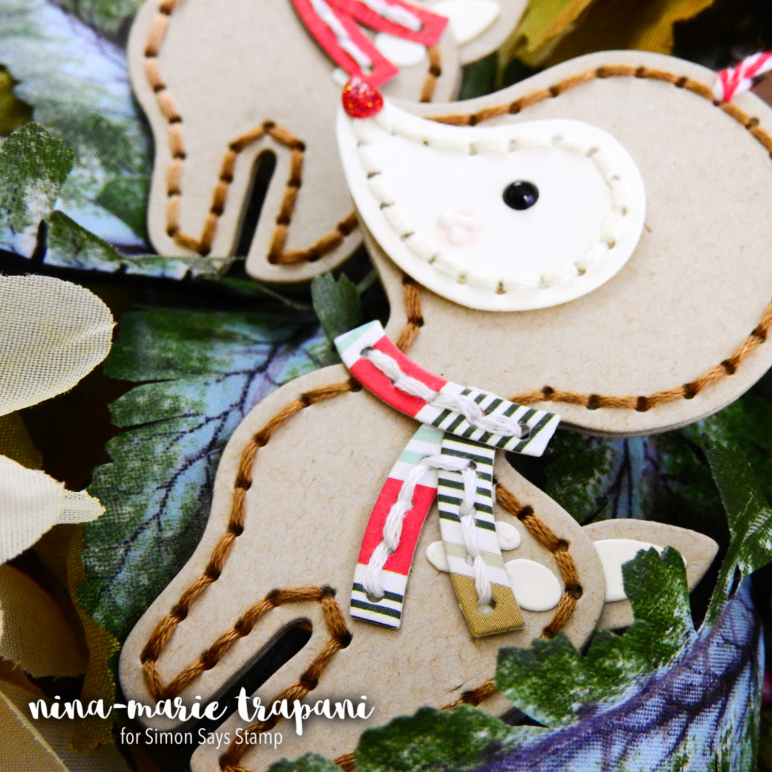 Kindness Day Handmade Paper Ornament Gift Idea | Nina-Marie Design