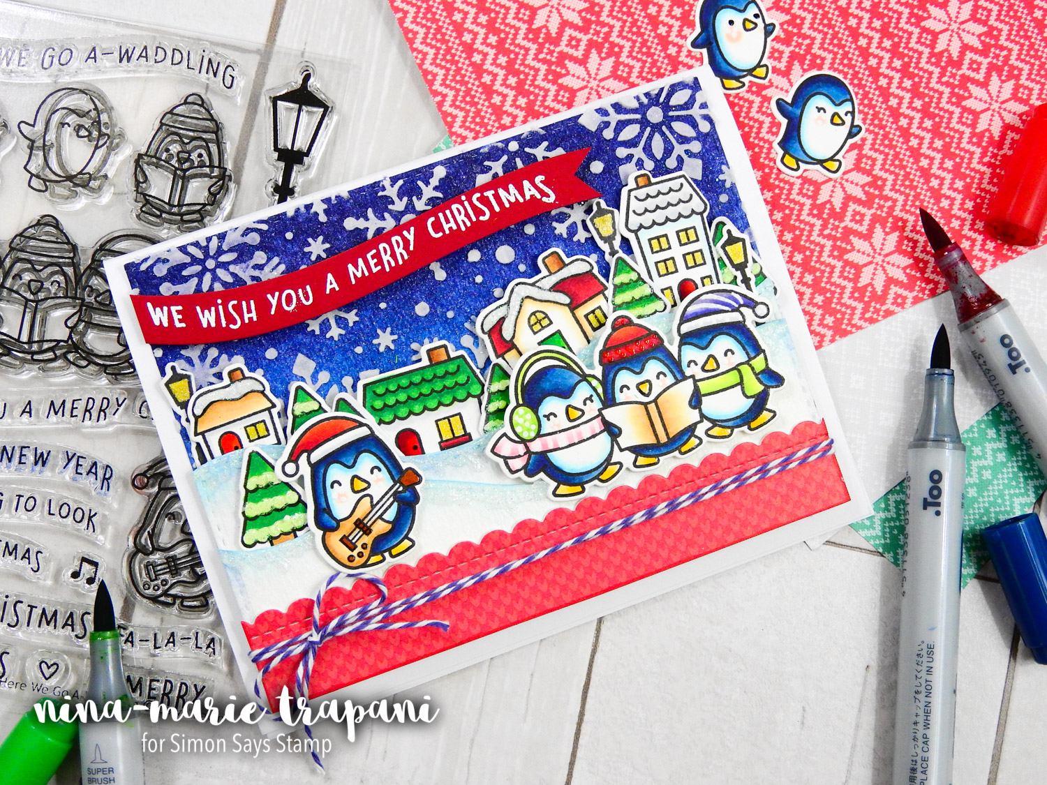 Studio Monday with Nina-Marie: Lawn Fawn Pop Up Holiday Gift Card ...