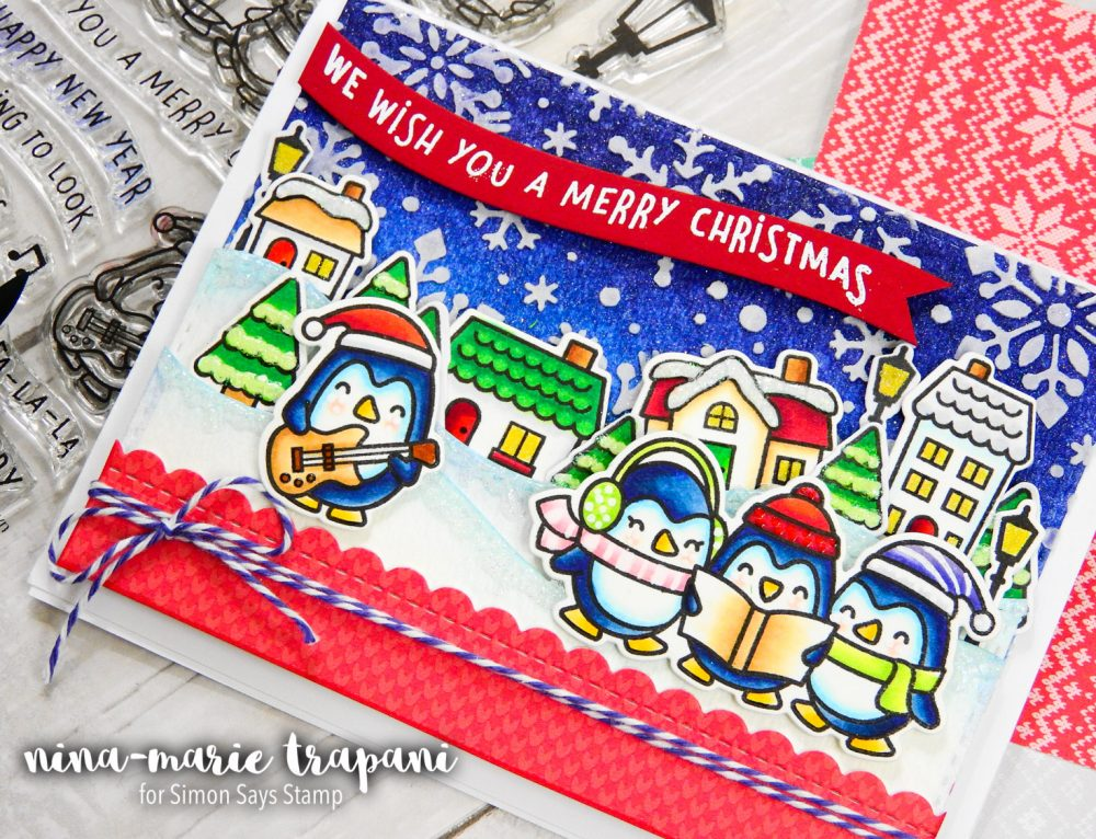 Studio Monday with Nina-Marie:  Lawn Fawn Pop Up Holiday Gift Card