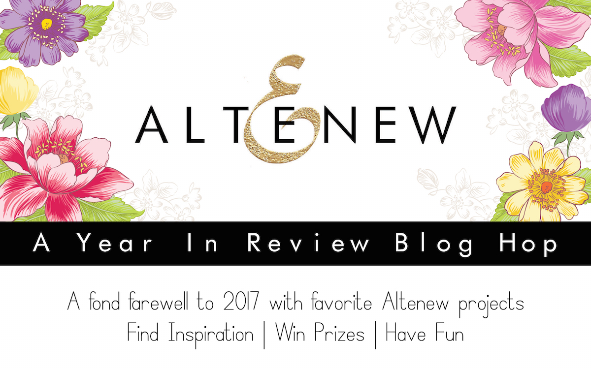 A Look Back: Altenew's A Year in Review Blog Hop!