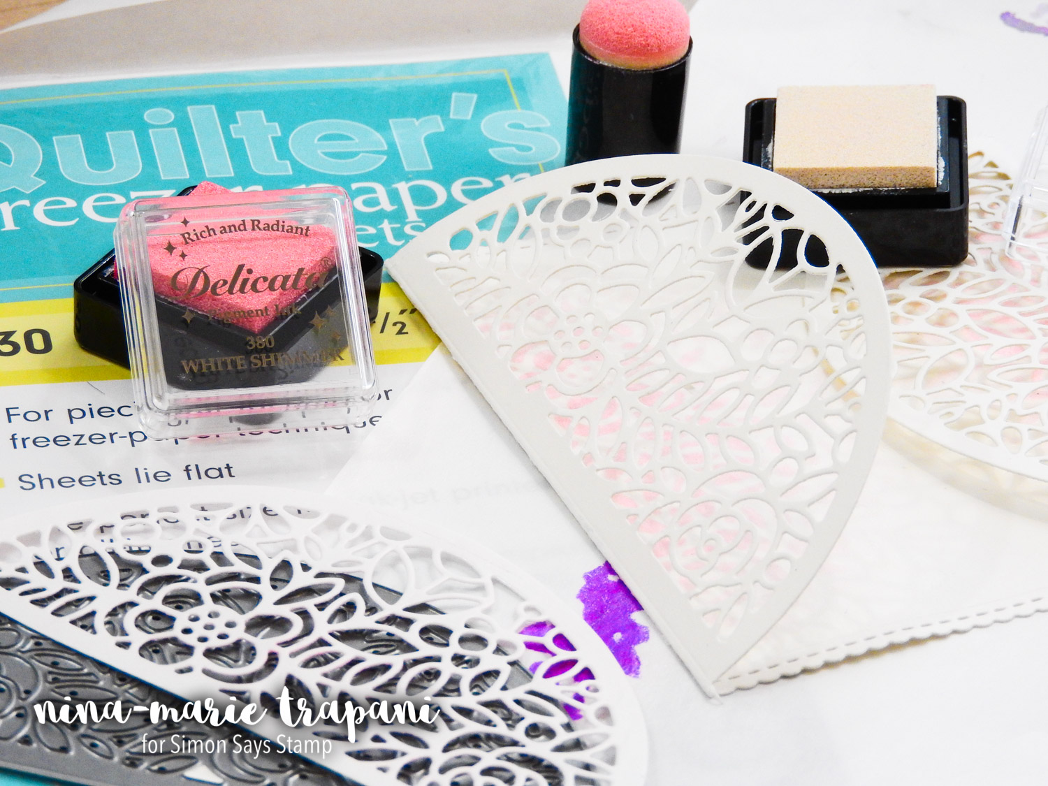 Studio Monday with Nina-Marie: 5 Ways to Use Freezer Paper