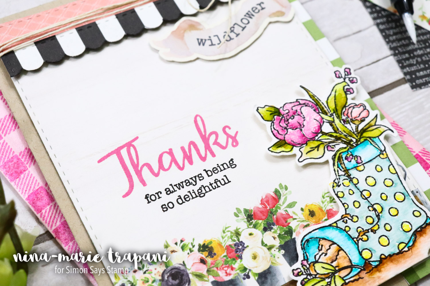 Simon's Choose Joy March 2018 Card Kit: Inspiration + See Inside!