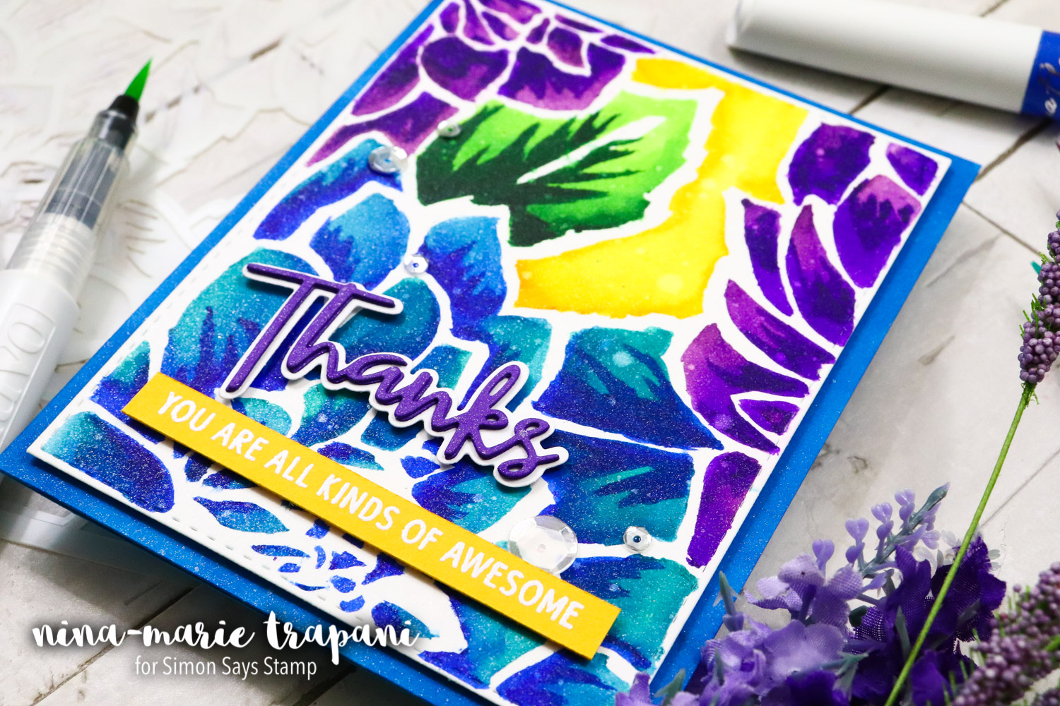 Studio Monday with Nina-Marie: Stenciling 5 Ways