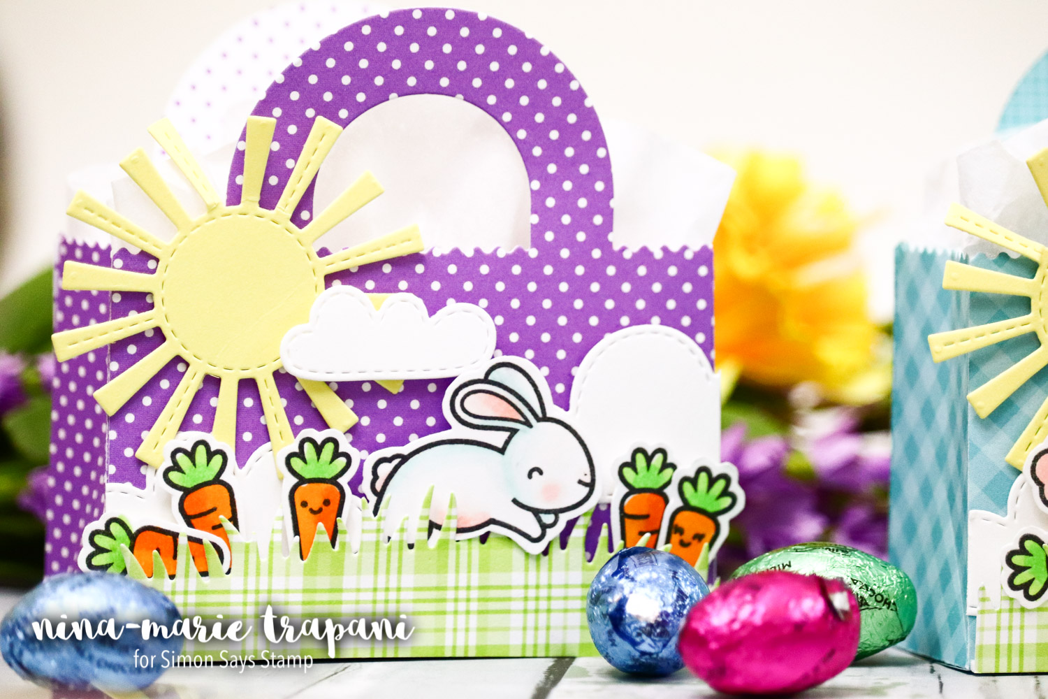 Studio Monday with Nina-Marie: Easter Treat Bags with Lawn Fawn