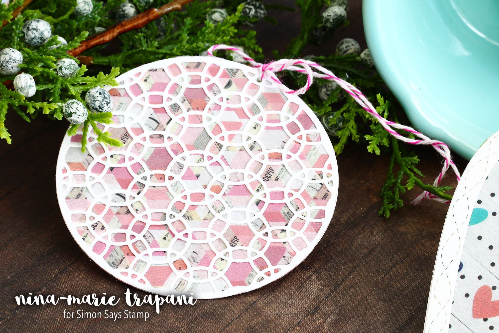 Studio Monday with Nina-Marie: Washi Tape Sun Catchers