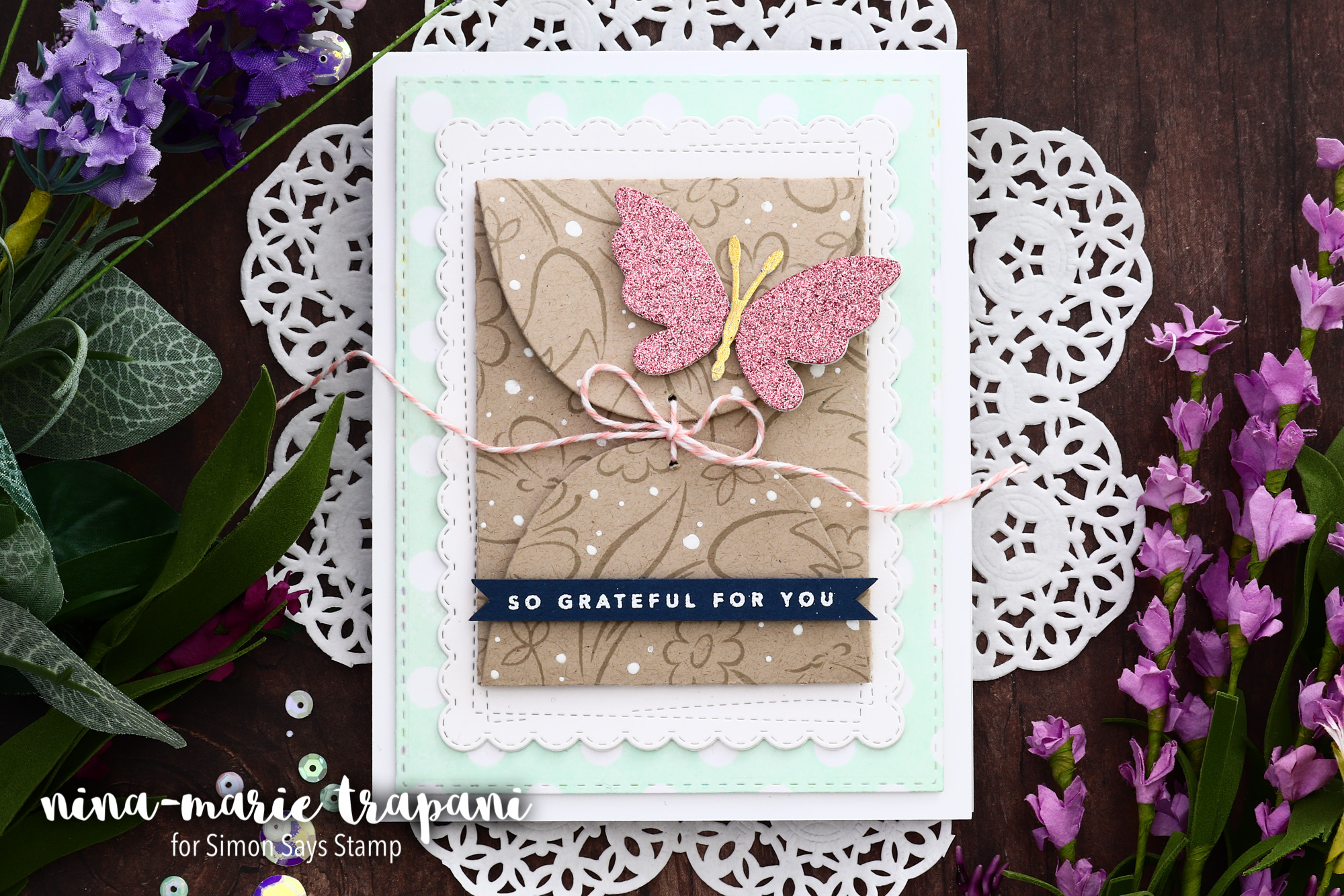 Hidden Sentiment Card + Simon's Fluttering By Hop