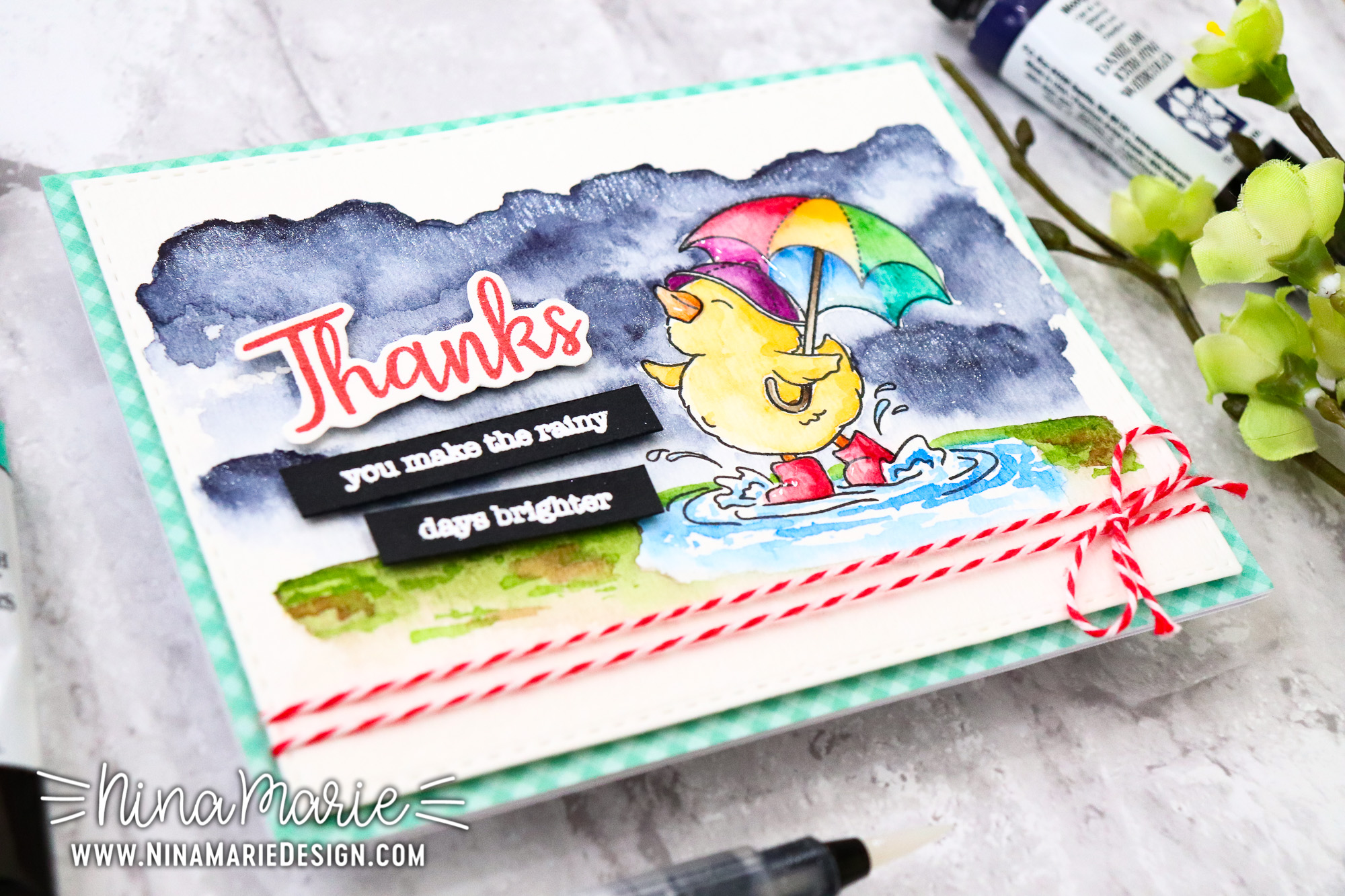 Watercolor Inspiration, Sneak Peek, New Stamps & Simon's Mother's Day Card Kit!