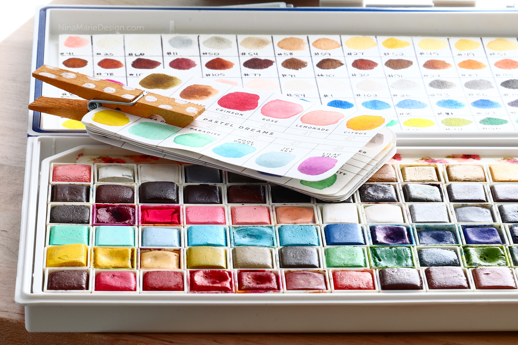 Prima Watercolor Confections: How I Store Them