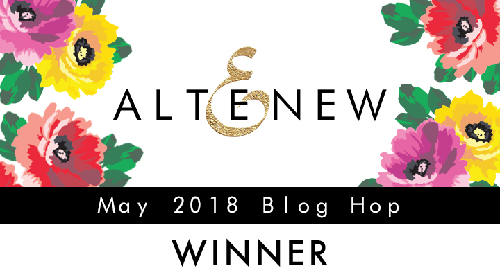 Altenew May Blog Hop Winner