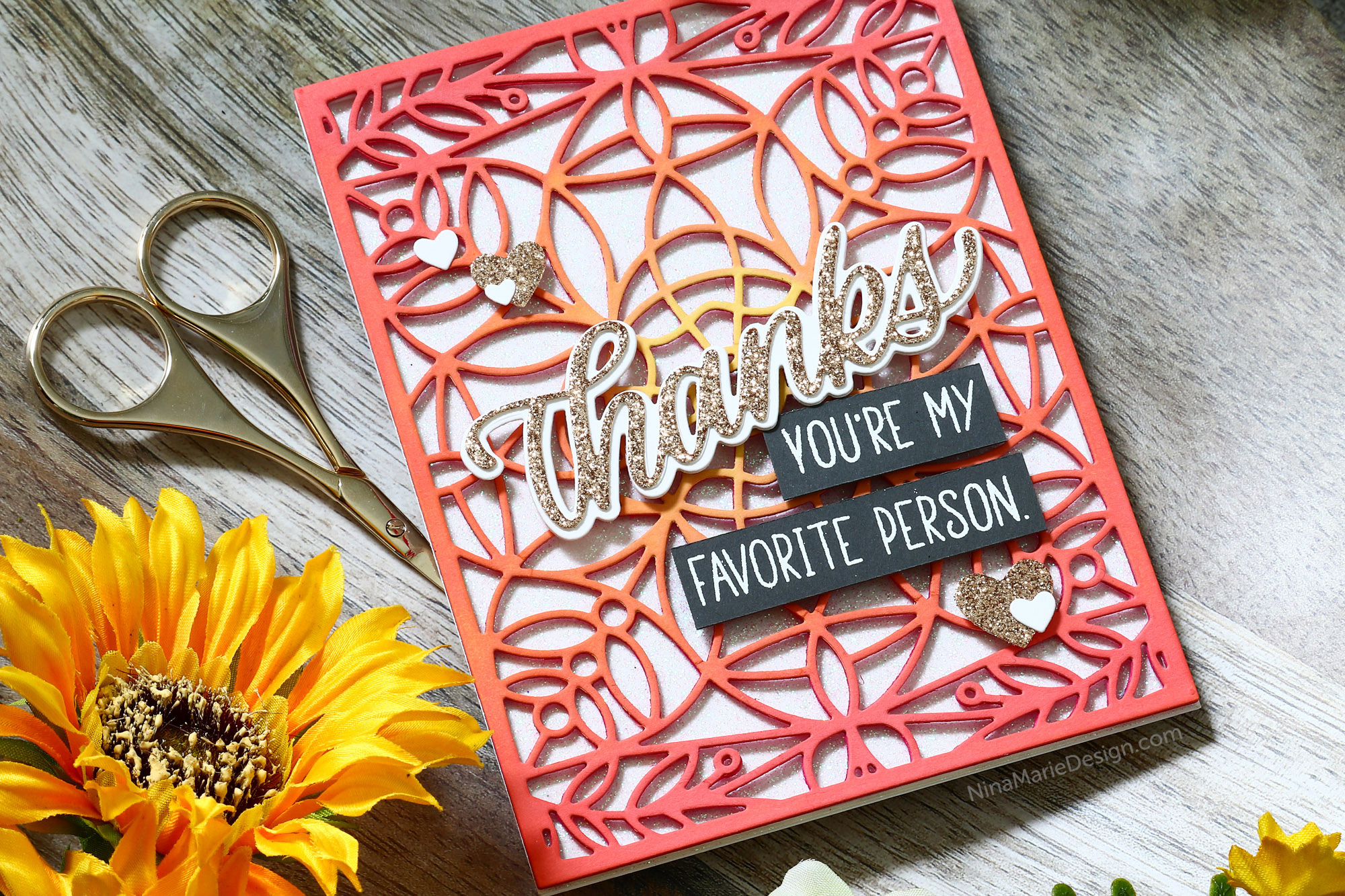 Die Cutting with Simon's Sending Sunshine Release