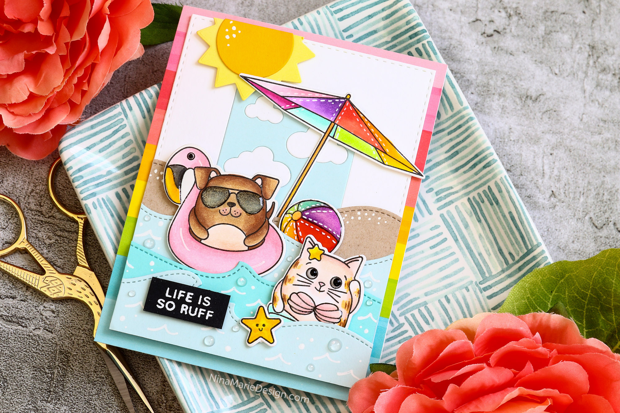 Simon Says Stamp Good Vibes Release Blog Hop Inspiration!