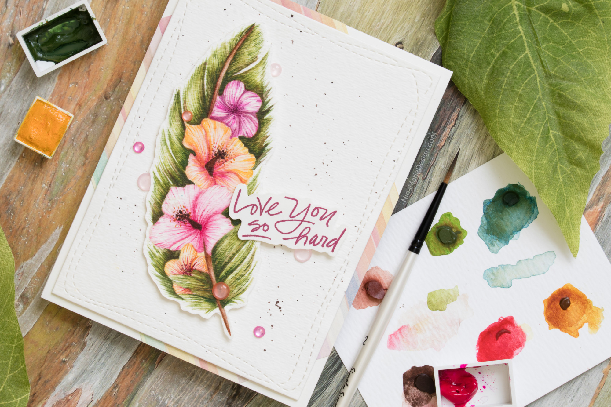 An Easy Approach To Detail Watercolor Simons Friendly Frolic