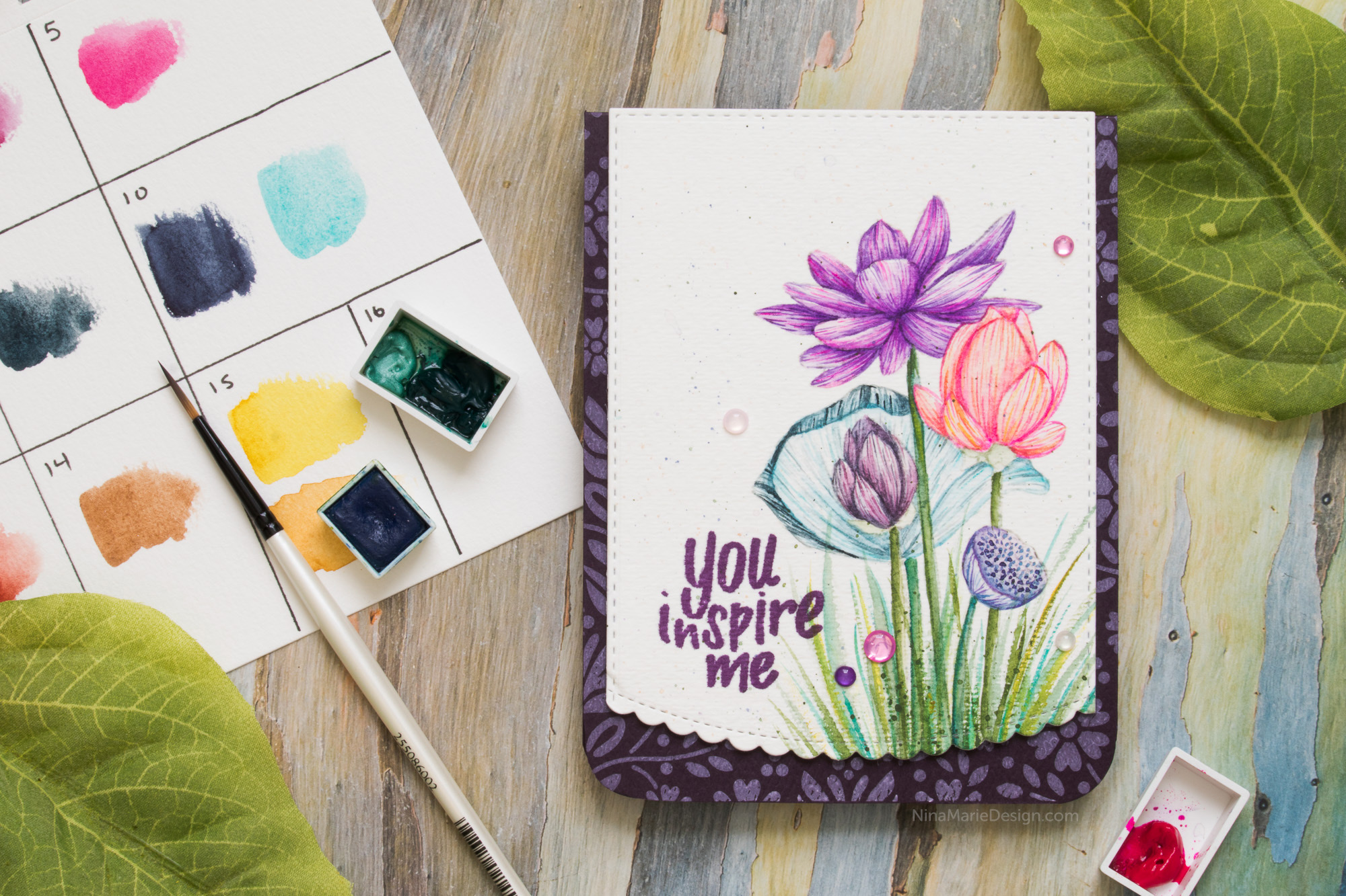 An Easy Approach to Detail Watercolor + Simon's Friendly Frolic Release Blog Hop