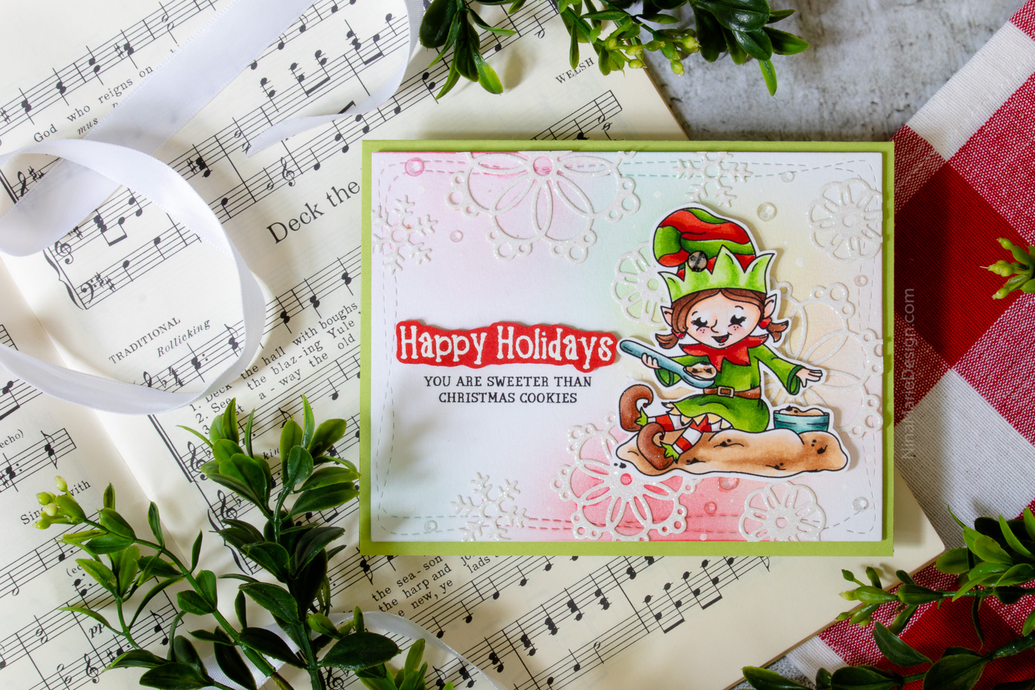 Elves at Christmas: Exclusive New Holiday Stamp Set from Simon!