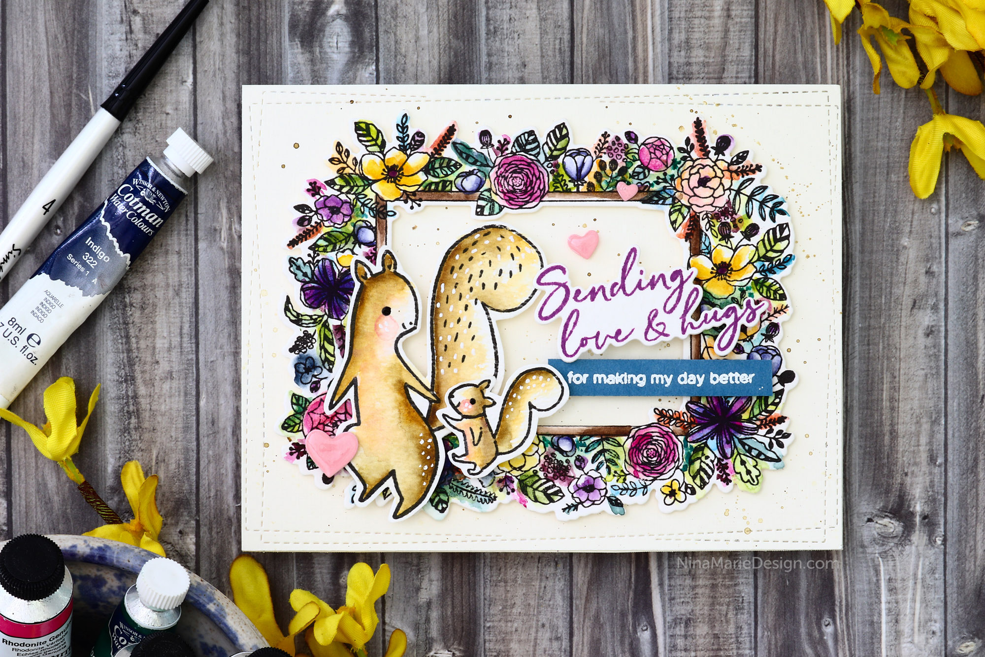 PinkFresh Studios July Release Inspiration + Blog Hop