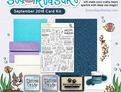 Simon's September Card Kit: Sea Treasure!