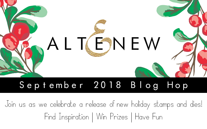 Stamp Layering + Altenew's September Release