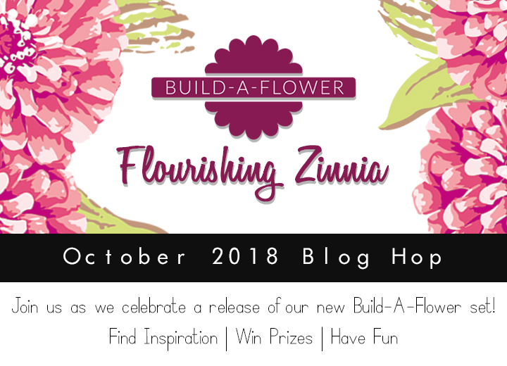 Altenew's Zannia Build-A-Flower Inspiration + Hop