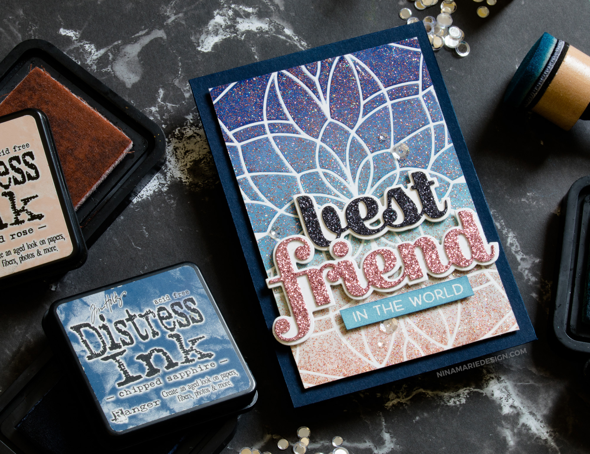 More DIY Glimmer Paste Inspiration + Memory Box Holiday