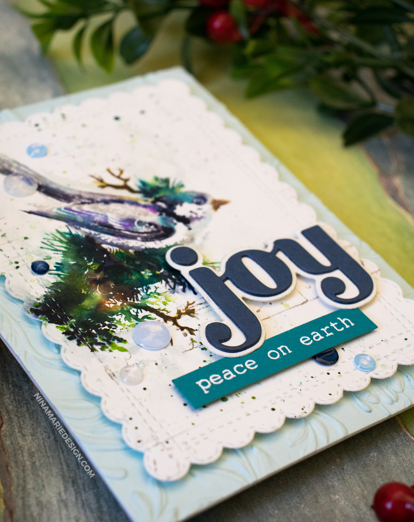 Watercolor Stamping + Simon's STAMPtember® Exclusive with Tim Holtz