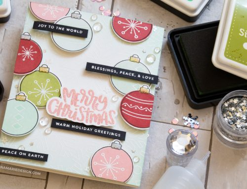 Layered Modern Christmas Card + Simon's Fun & Festive Release