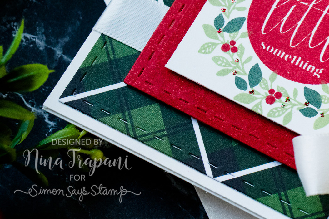 Turnabout Snowflake Holiday Card + Sneak Peek & New Stamps!