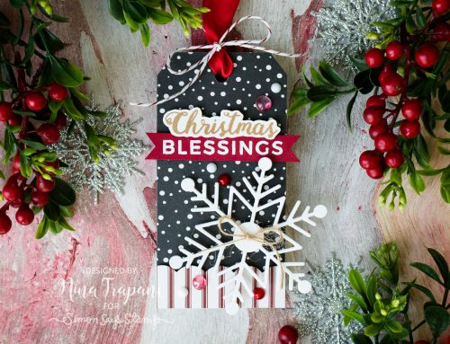 Tag & Card Inspiration + Simon's Limited Edition Holiday Tag Kit