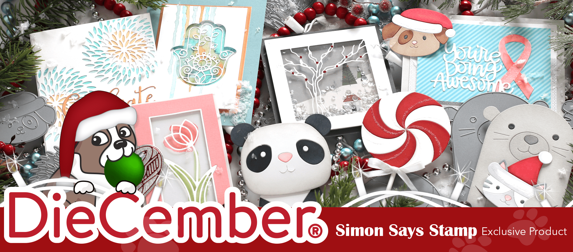 Altered & Layered Die Cuts + Simon's DieCember Release
