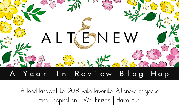 Altenew Year In Review Blog Hop: My Favorites From 2018