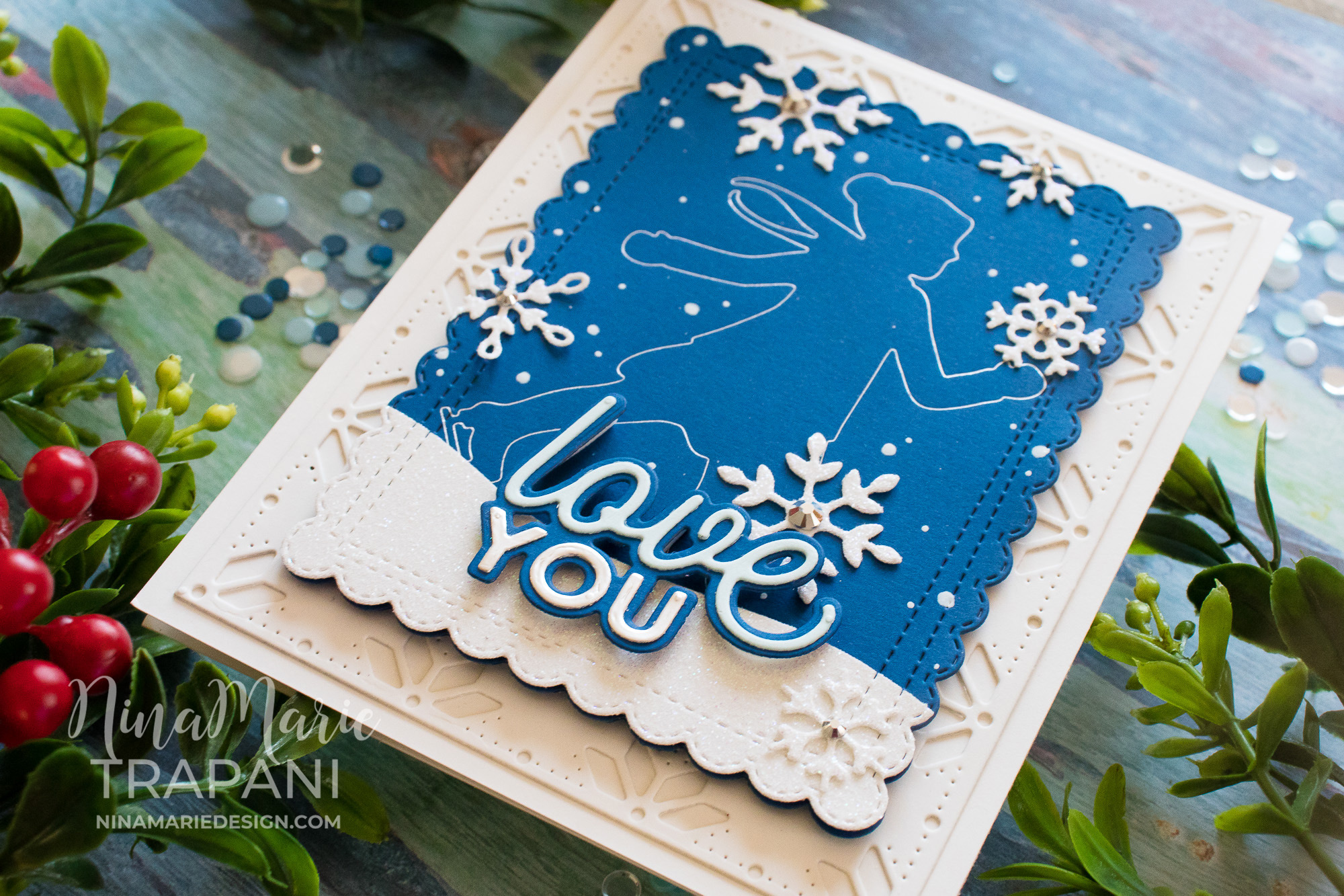 Foiling with Dies + Simon's DieCember® Blog Hop!