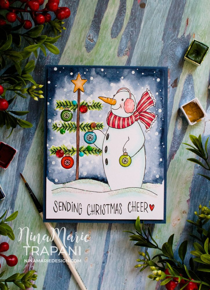 Fun to Color Christmas Card-5