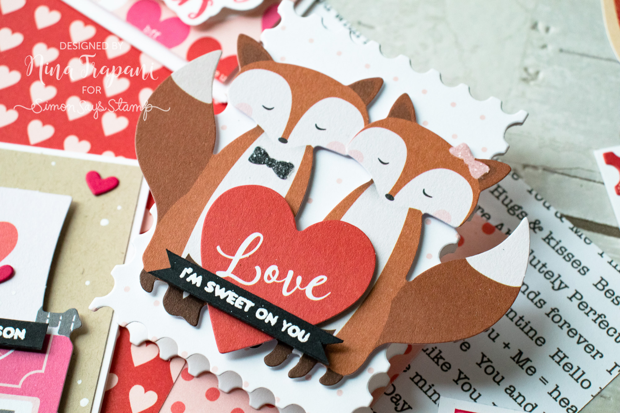 Mini Valentines with Simon's Limited Edition Valentine Kit