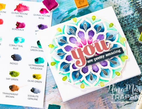 Glitter Mandala Watercolor + Sale!