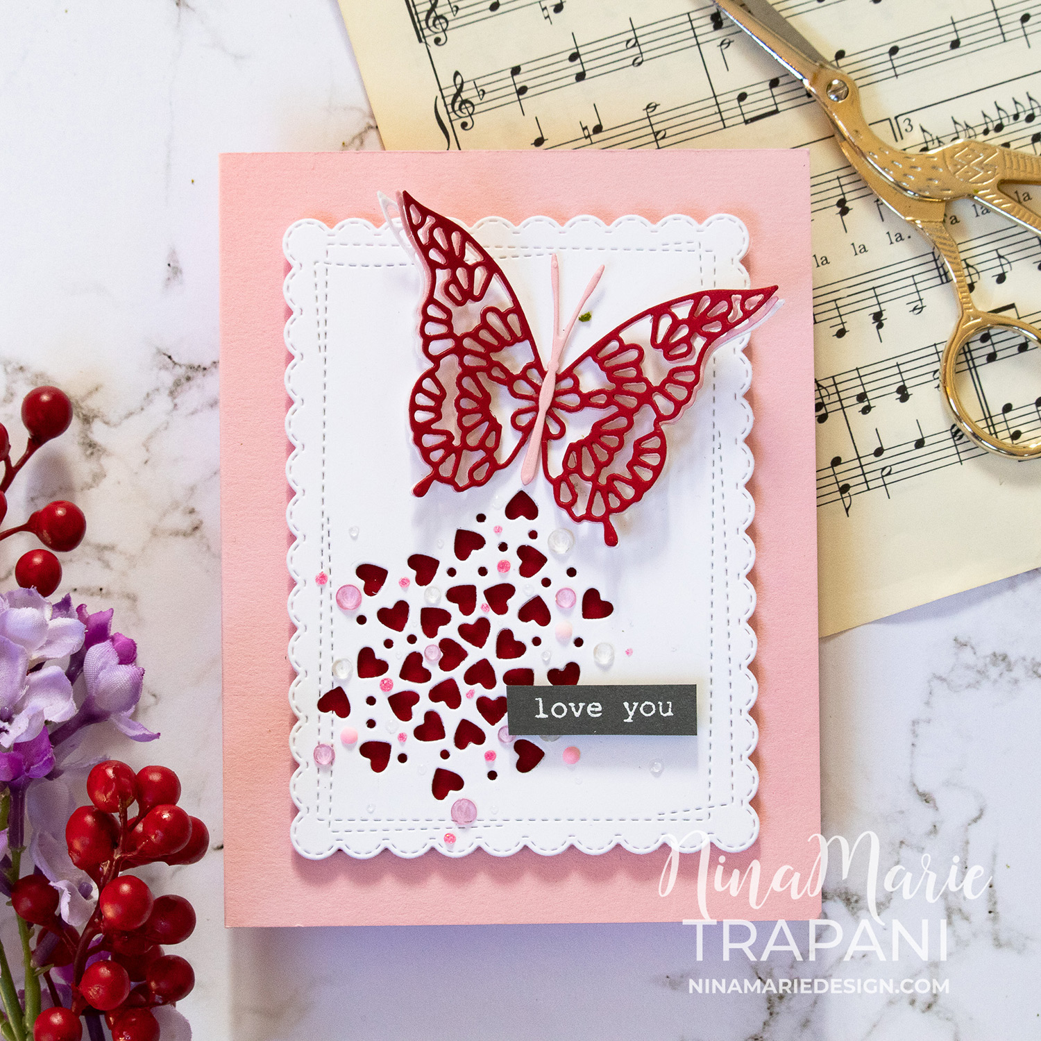 Dimensional Layered Die Cuts Featuring Memory Box