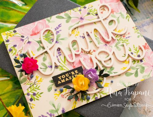Simple Layering with Simon's June 2019 Card Kit