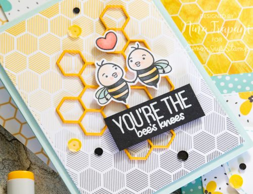 2 Ways to Use Simon's July Card Kit, Bee Yourself!