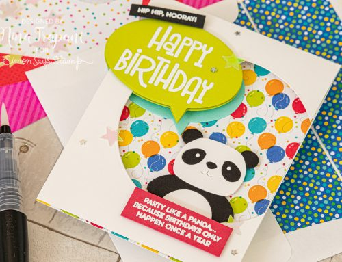 3 Ways: Simon's August 2019 Card Kit [Party Like a Panda]