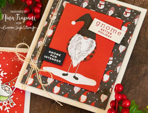 Easy Christmas & Holiday Cards with Simon's December 2019 Card Kit!