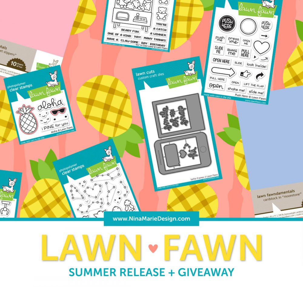 Lawn Fawn Summer Release + Giveaway | Nina-Marie Design